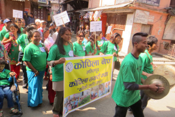 World CP Day celebrations in Nepal
