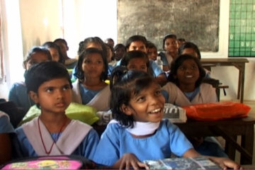 Children in classroom