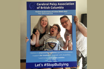 The CPABC team on their ant-bullying campaign