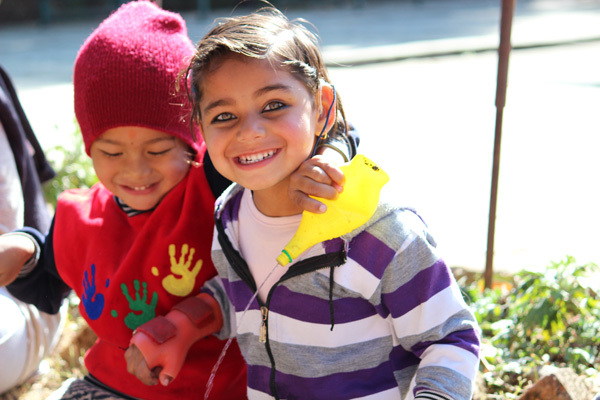 Children from Self Help Group Nepal